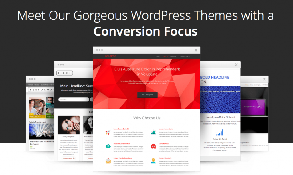Blogging theme wordpress